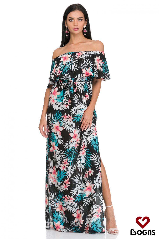 4 moduri interesante in care poti purta rochii cu imprimeu floral