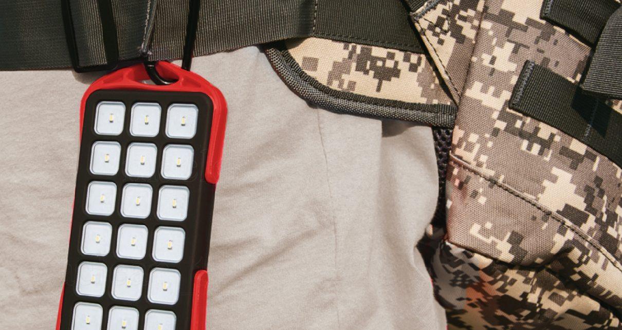 Baterie externa 6000 mAh Weatherproof cu Leduri