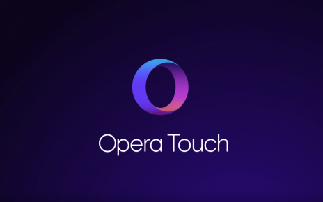 Opera Touch browser mobil