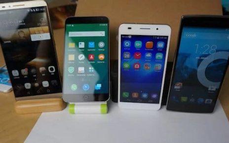 vanzari smartphoneuri china