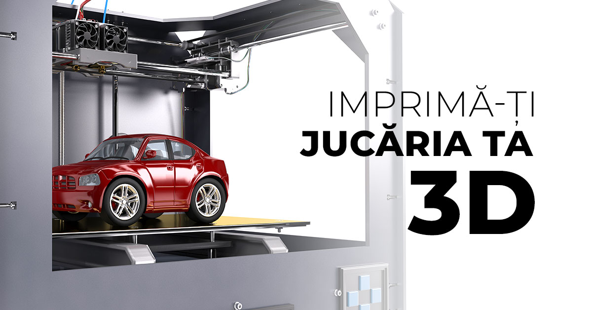 jucarii printate 3D Ganijoco.ro