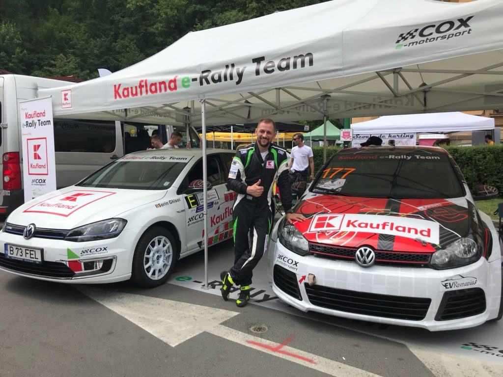 Kaufland e-Rally Team - prima mașină electrică preparată pentru curse