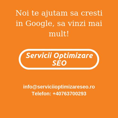 Agentie Servicii Optimizare SEO.