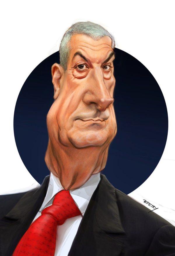 caricatura calin popescu tariceanu