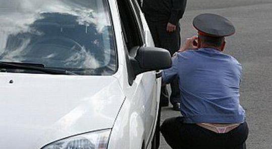 Timișoara: Poliția Română parcată pe trecerea de pietoni