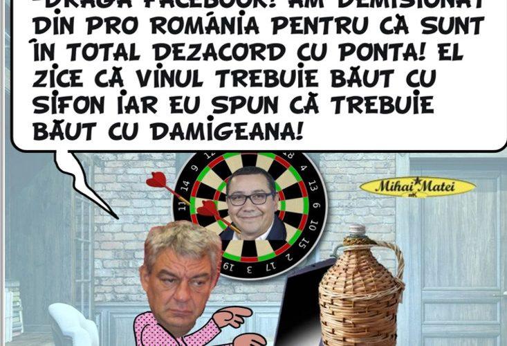 Până la urmă s-a aflat de ce a demisionat Mihai Tudose din PRO România