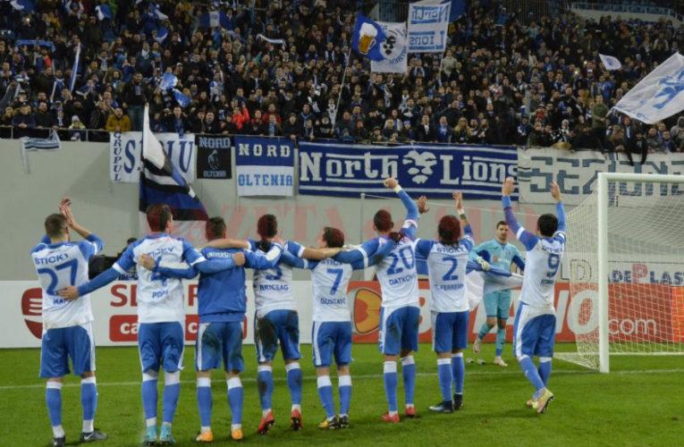 Universitatea Craiova a câștigat meciul cu FC Botoșani. Scor spectaculos!