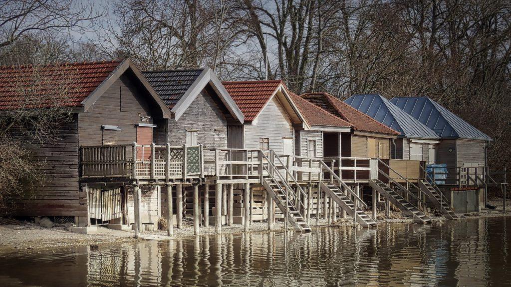 Casele de lemn