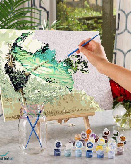 pictorul fericit
